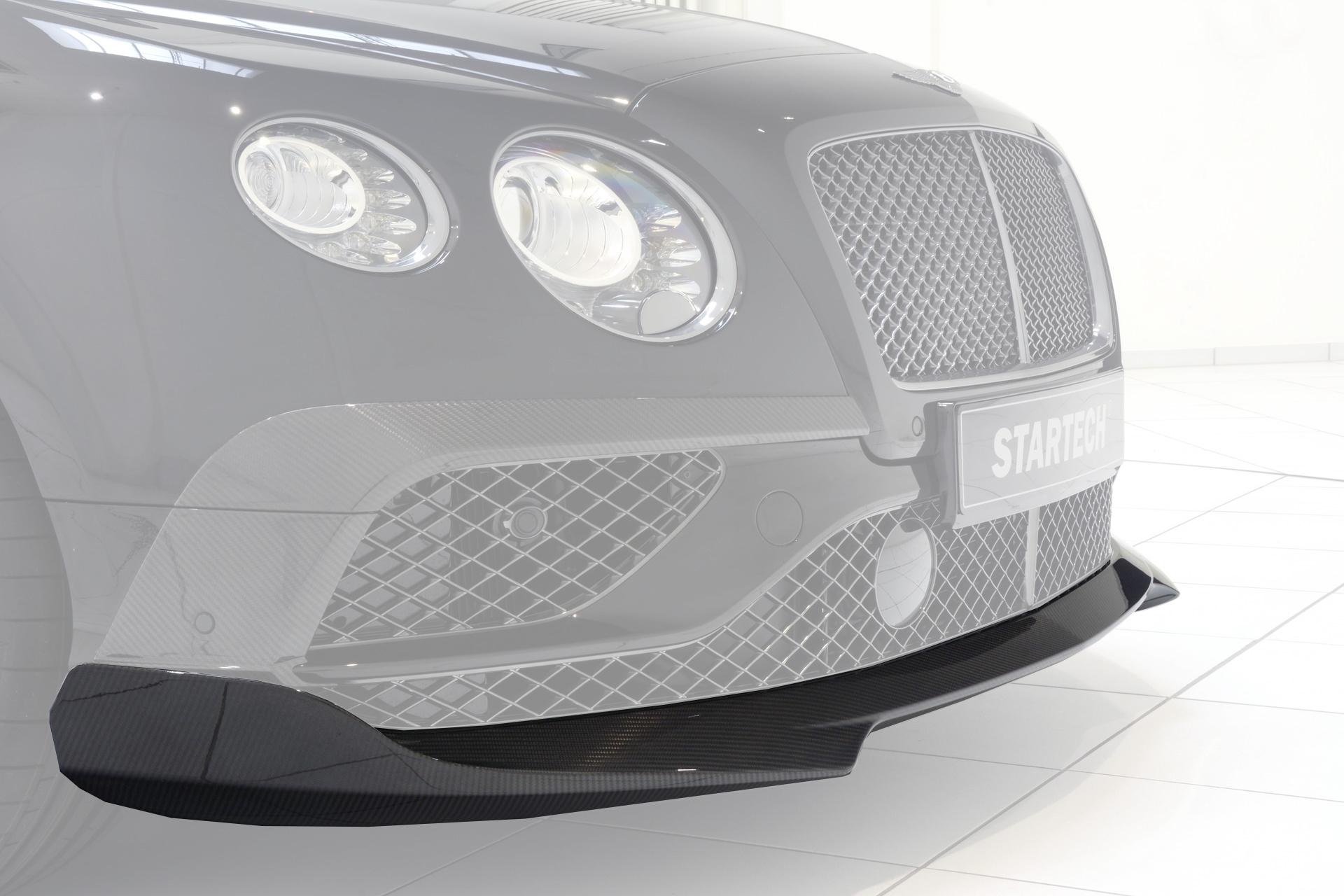Карбоновые ресницы переднего бампера Startech Style для Bentley Continental