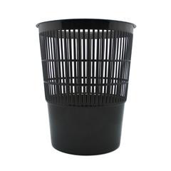 Корзина для мусора 14 л пластик черная (27.5х33 см)