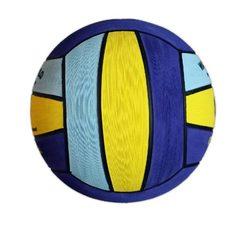 НОВИНКА!!! Тренировочный ватерпольный мяч DIAPOLO Official Ball W5 Lightblue-Yellow-Darkblue Размер 5 мужской арт.B-DPI5-660107