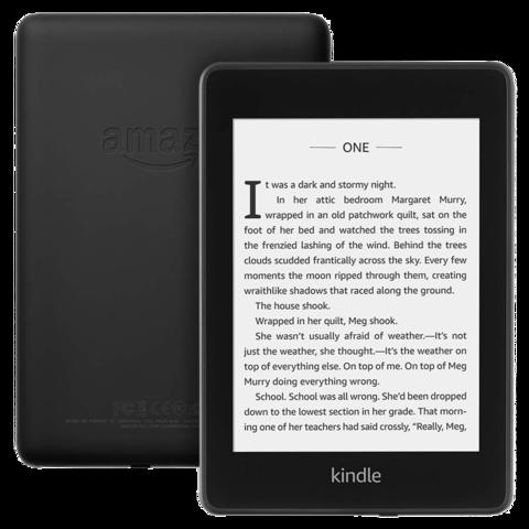 Электронная книга Amazon Kindle Paperwhite 2018 (черный) (Ad-Supported)