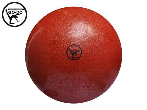 Мяч GO DO для худ. гимн. D 19 см. Цв/ красный имитация