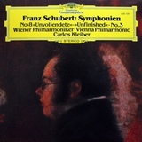 Franz Schubert, Wiener Philharmoniker, Carlos Kleiber / Symphonien No. 8 Unfinished, No. 3 (LP)