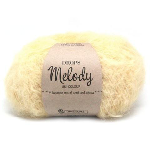 Пряжа Drops Melody 14 ваниль