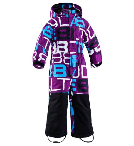 """Детский комбинезон """"WOODIE"""" 8848 Altitude Purple горнолыжный"""
