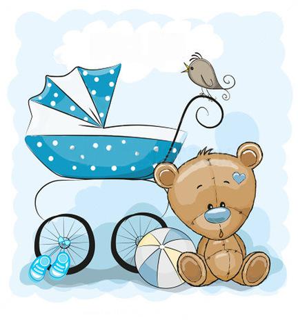 Печать на сахарной бумаге, С Новорожденным 1