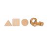 Грузовик с 3 кубиками (Серия WoodГрад)