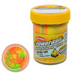 Паста Berkley PowerBait Natural Scent Trout Bait (радужный/чеснок)