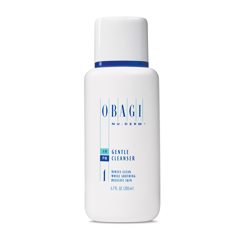 Мягкий очищающий гель для чувствительной и сухой кожи Gentle Cleanser, Obagi Medical, 200 мл.
