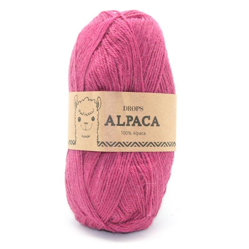 Пряжа Drops Alpaca 3770 брусника