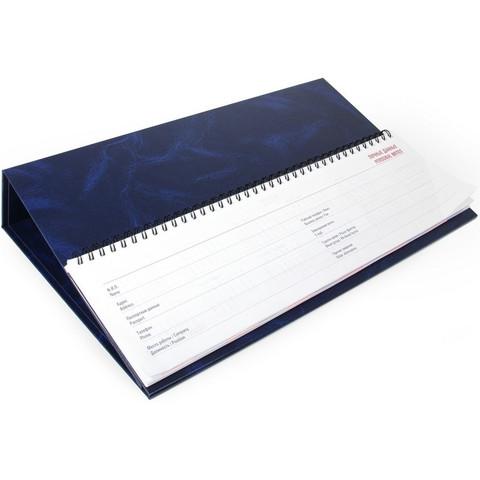 Планинг недатированный Balacron картон 57 листов синий (330x98 мм)