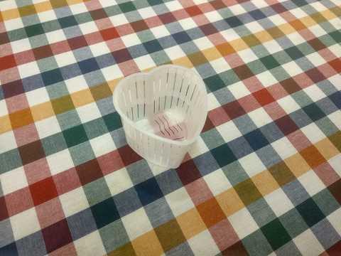 Пластиковая форма для сыра и творога Сердечко, Италия, фото