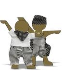 Комплект из хлопка - Демонстрационный образец. Одежда для кукол, пупсов и мягких игрушек.