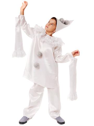 Карнавальный костюм детский Пьеро
