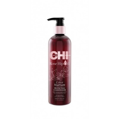 CHI Rose Hip Oil Color Nurture: Кондиционер для волос с маслом шиповника (Protecting Conditioner), 59мл/340мл/739мл