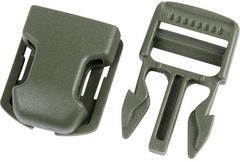 Фастекс Сплав на подложке 25 мм 1-15000/1-15707/1-15709 (3 части) одна регулировка оливковый - 2