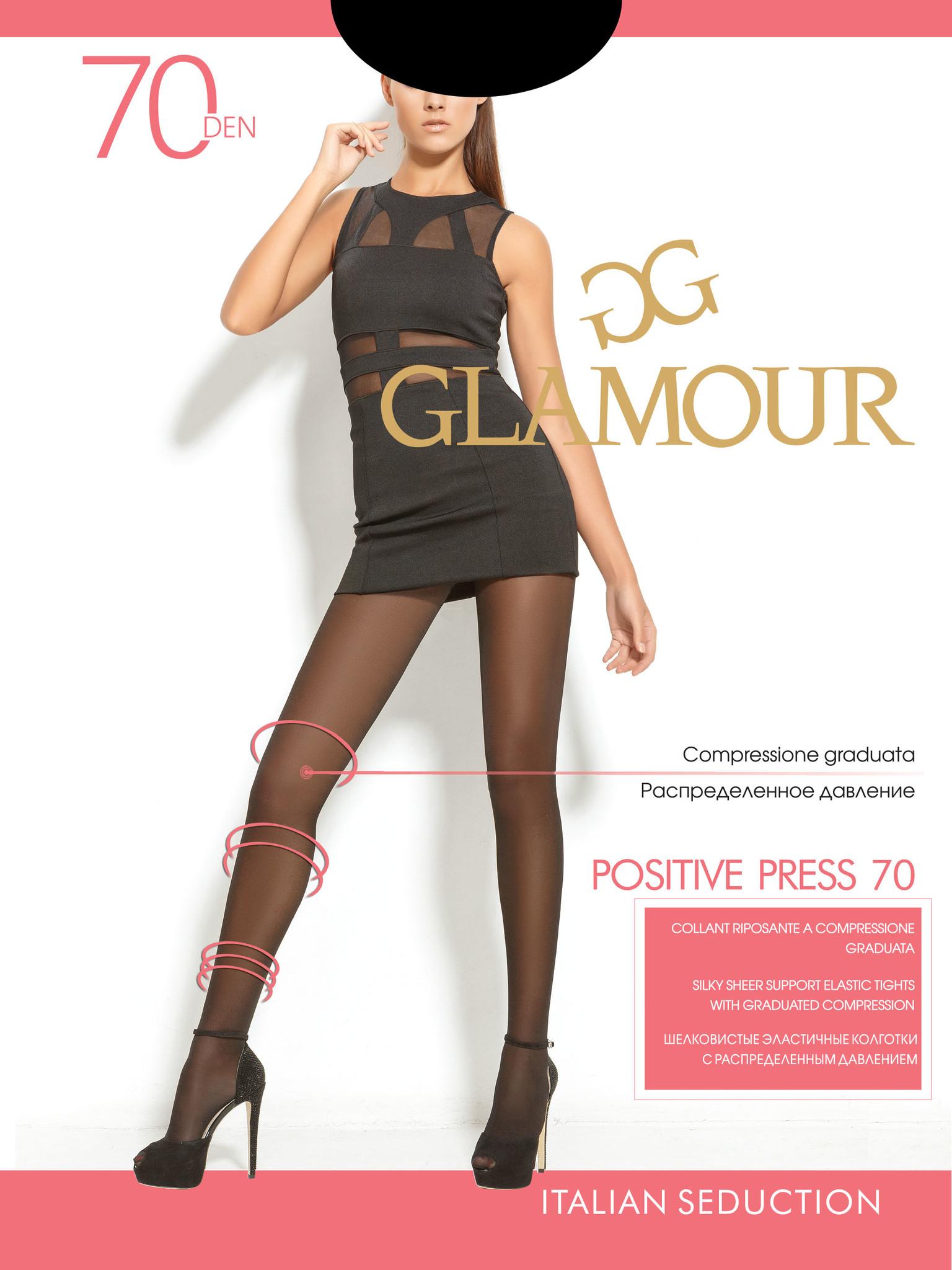 Glamour Positive Press 70 колготки женские