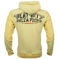 Худи светло-желтая Yakuza Premium 3121-2