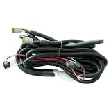 Комплект проводов с разъёмом, кнопкой, реле, предохранителем для двух фар R серии ALO-AW12 фото-1