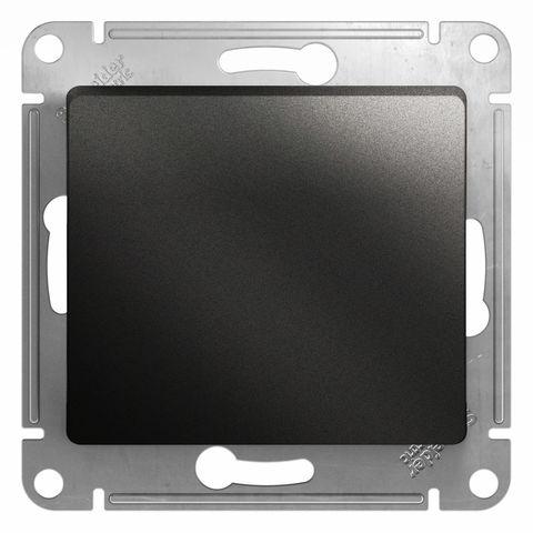 Кнопочный выключатель, 10АХ. Цвет Антрацит. Schneider Electric Glossa. GSL000715