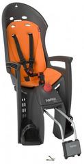 Детское велокресло с наклоном Hamax Siesta с замком Серый/Оранжевый - 2