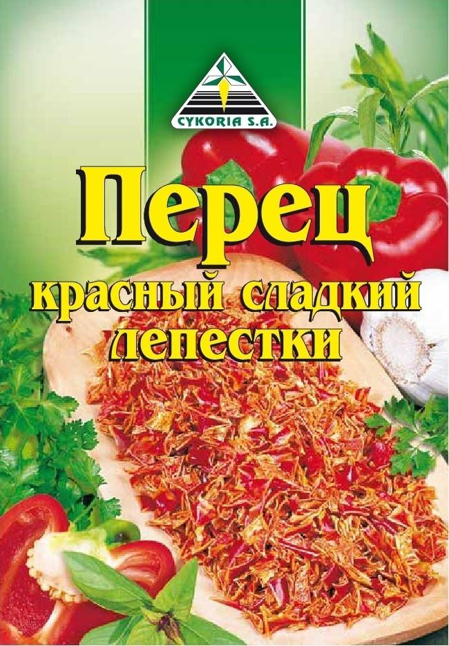 Перец красный сладкий лепестки, 50п х 15г