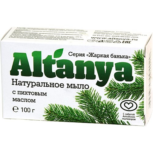 Натуральное мыло с пихтовым маслом, 100 г
