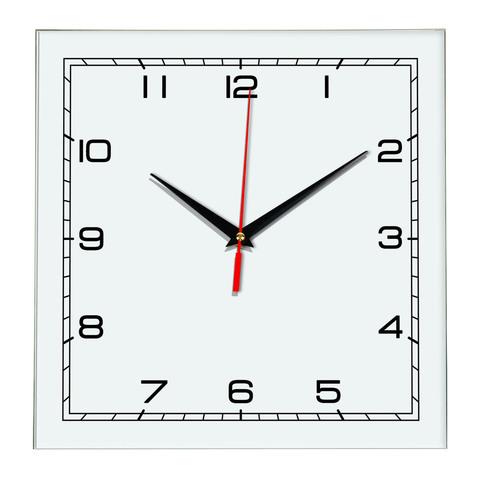 Настенные часы Ideal 850 белые