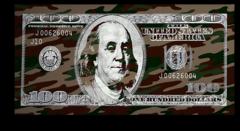 """Постер """"Доллар цвета хаки"""""""