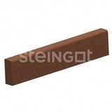 Бордюрный камень STEINGOT Садовый 1000х200х80 (Коричневый)