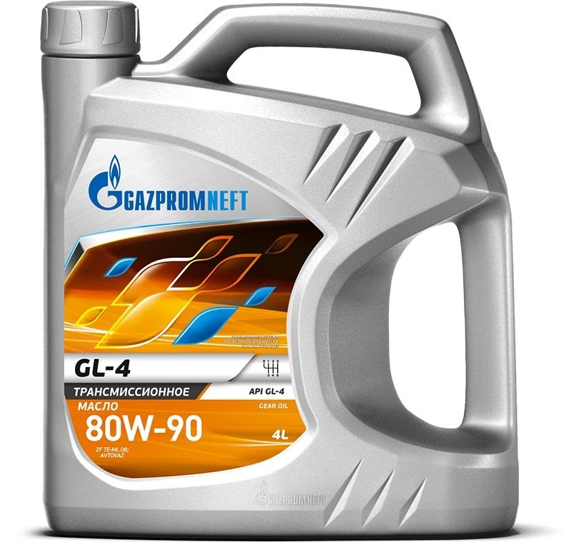 Gazpromneft GL-4 80W-90  - Трансмиссионное масло для МКПП (4л)