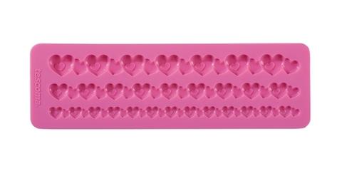 Силиконовые формочки Tescoma DELICIA DECO, бордюр с сердечками