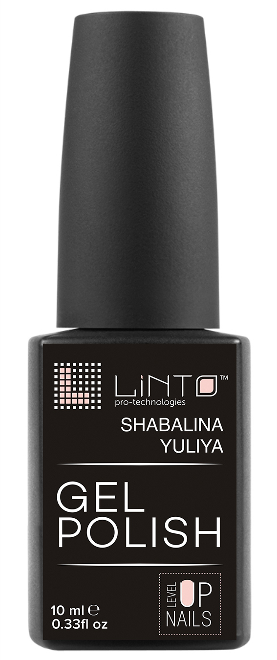 Гель-лак LINTO Level_Up Shabalina Yuliya 10мл