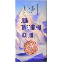 CEZONI Соль розовая гималайская / средний помол  200г