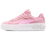 Кеды Женские Basket Platform Reset Pink White