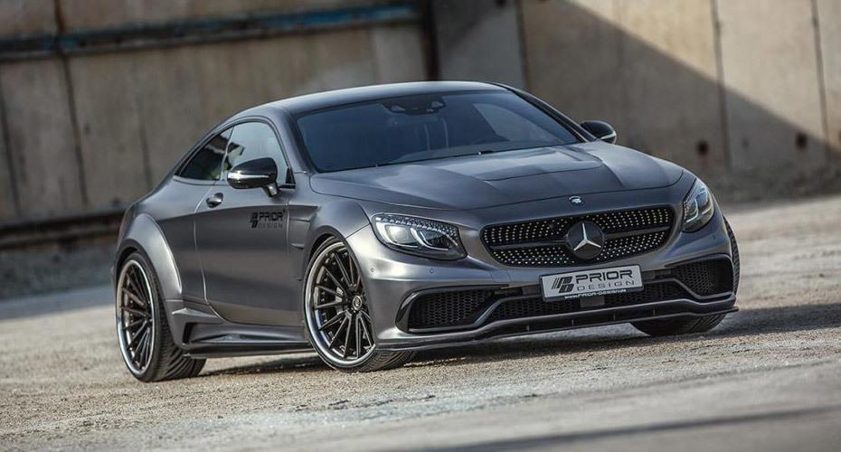 Обвес Prior Design для Mercedes S-class Coupe (C217)