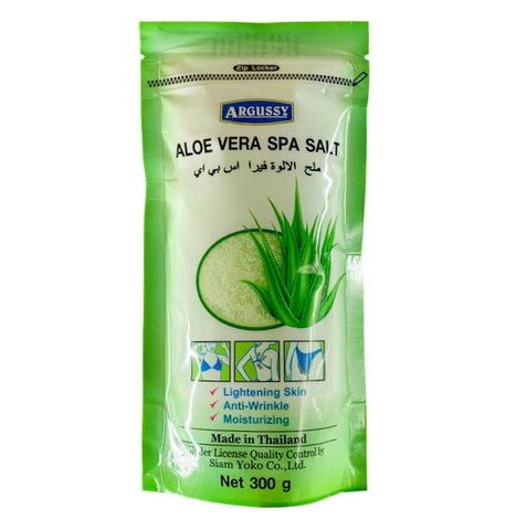 Солевой скраб с Алоэ Вера Yoko Argussy, Aloe Vera Spa Salt - 300 гр.