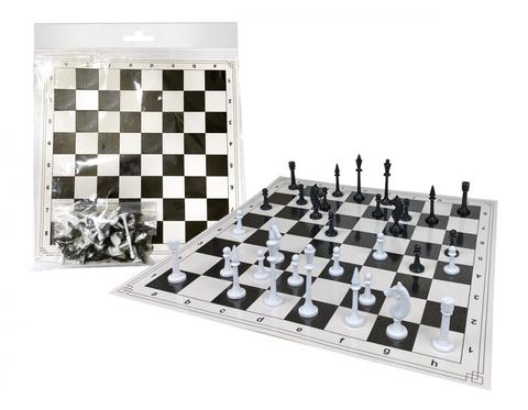 Шахматы (игровое поле 36х32 см., в пакете), 07146