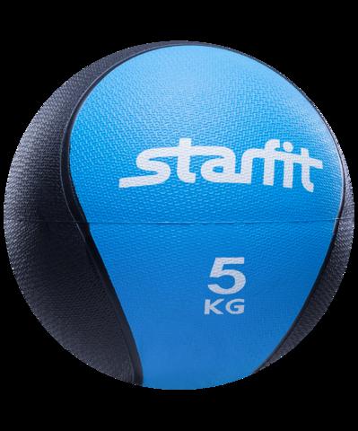 Медбол PRO GB-702, 5 кг, синий