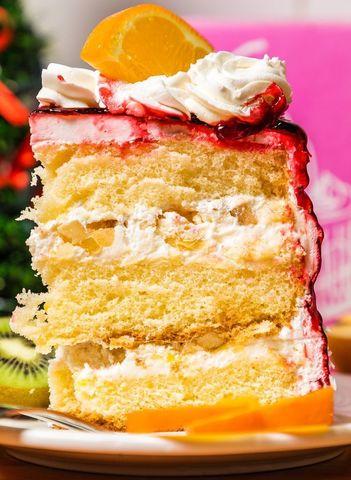 Торт №2 Фруктовый