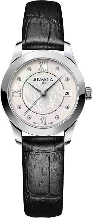 Часы женские Silvana SR28QSS6BCN Lady LeMarbre