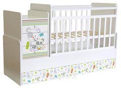 Кроватка детская ФЕЯ 1100 Панды