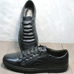 Черные кроссовки мужские демисезонные Novelty 5235 Black
