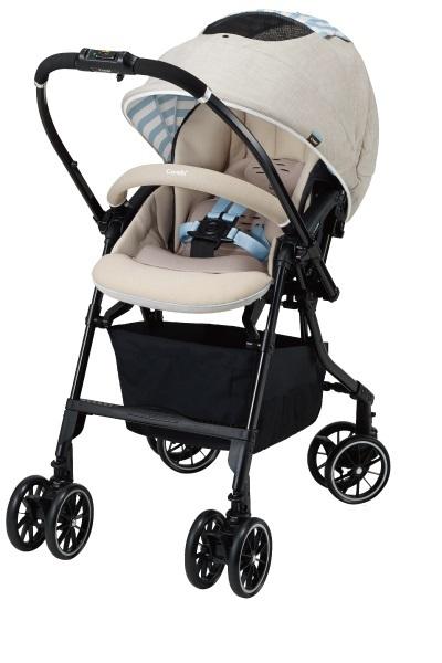 Компания COMBI - детская коляска «Mechacal Handy Auto 4cas» бежевая