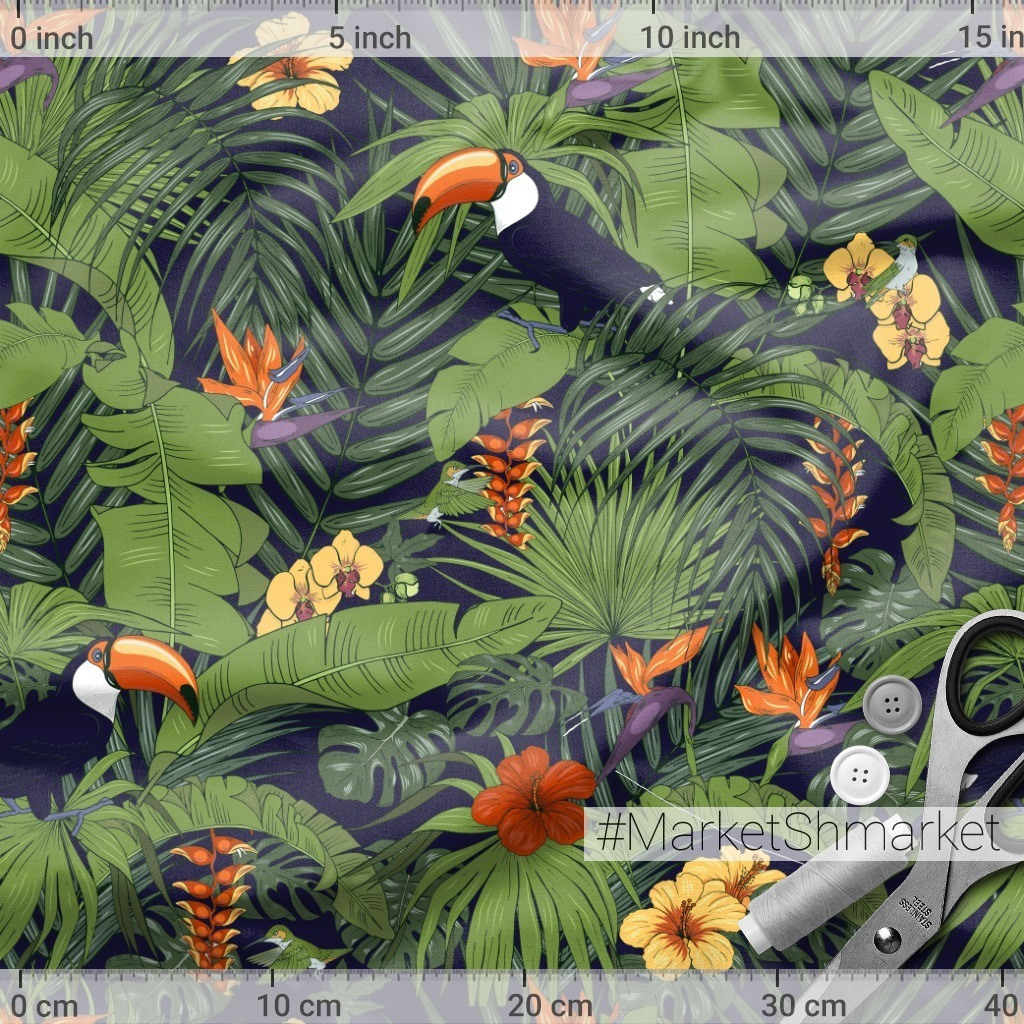 Туканы в тропиках