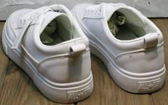 Спортивные туфли сникерсы женские El Passo 820 All White.