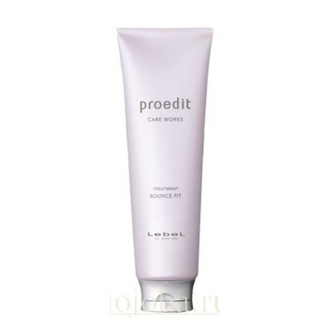 Lebel Proedit Home Charge: Маска для истонченных волос (Proedit Hair Treatment Bounce Fit), 250мл/600мл/1л