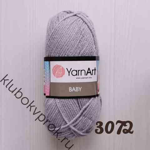 YARNART BABY 3072, Серый