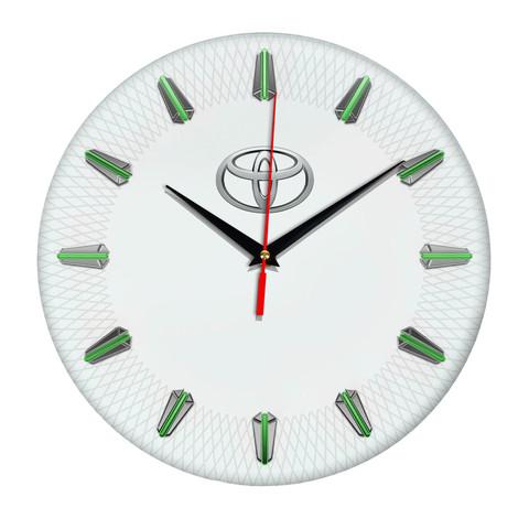 Настенные часы с эмблемой Toyota 07