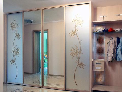 Шкаф 4х-дверный, ширина 280 см