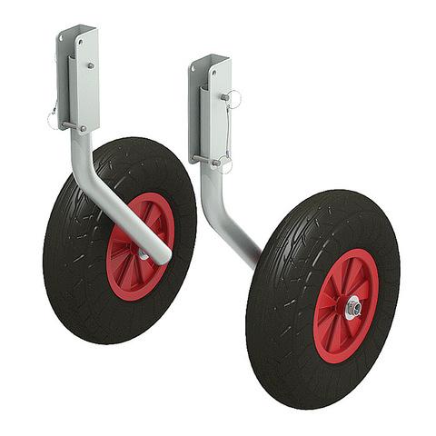 Комплект колес транцевых для НЛ усиленные 330 мм